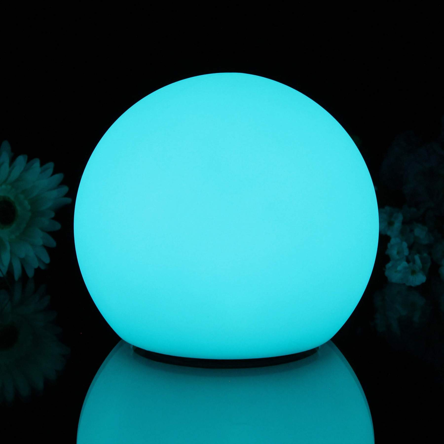 25 cm Table Beside LED Ball Lamps, 9.8 inch Solar LED Ball Lights
