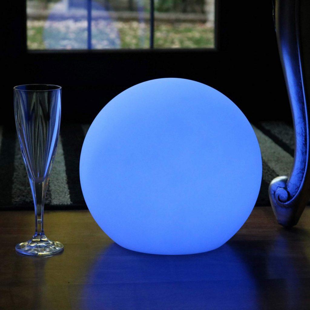 25 cm Table Beside LED Ball Lamps, 9.8 inch Solar LED Ball Lights