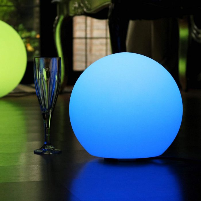 30 cm Indoor Room LED Lights Balls, 11.8 Inch Solar Garden Sphere Ball Lamps, Floating lighting Balls