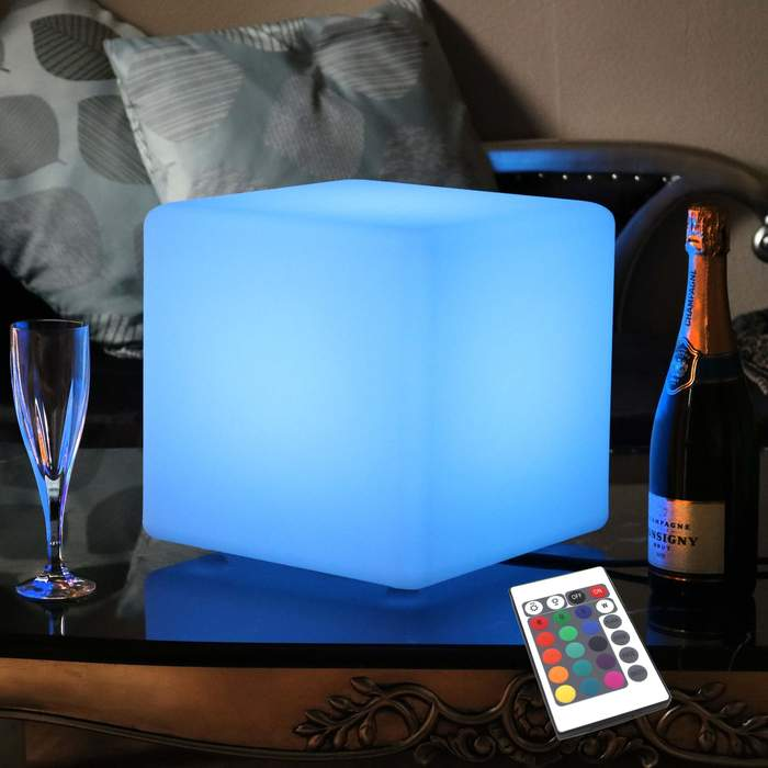 30 cm Mood Lighting Cube,Plastic Sensory Color Changing Cubes