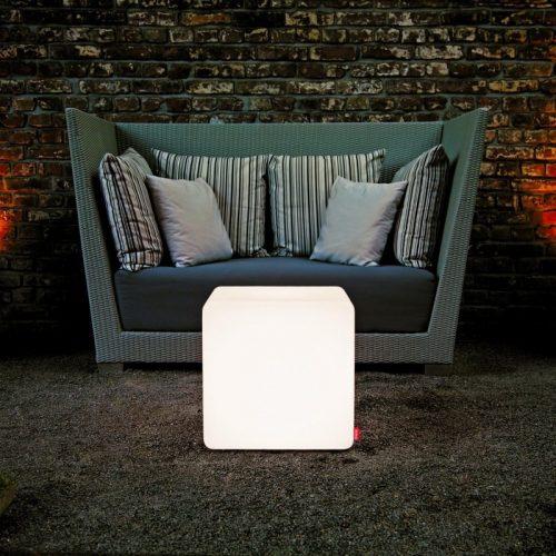 35cm E27 Bulb White Lighting Cubes