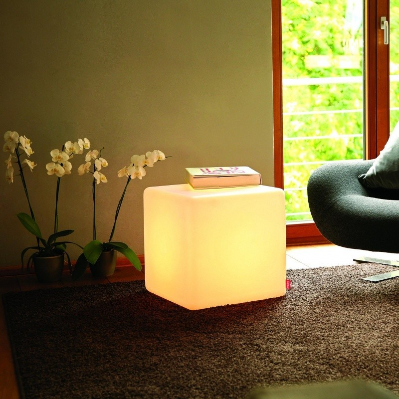 35cm LED Cube Light Seat