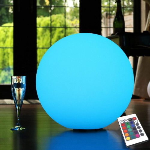 40 cm Outdoor Ball Lights, 15.7 Inch Floor Lighting Balls, Floating Pool LED Balls