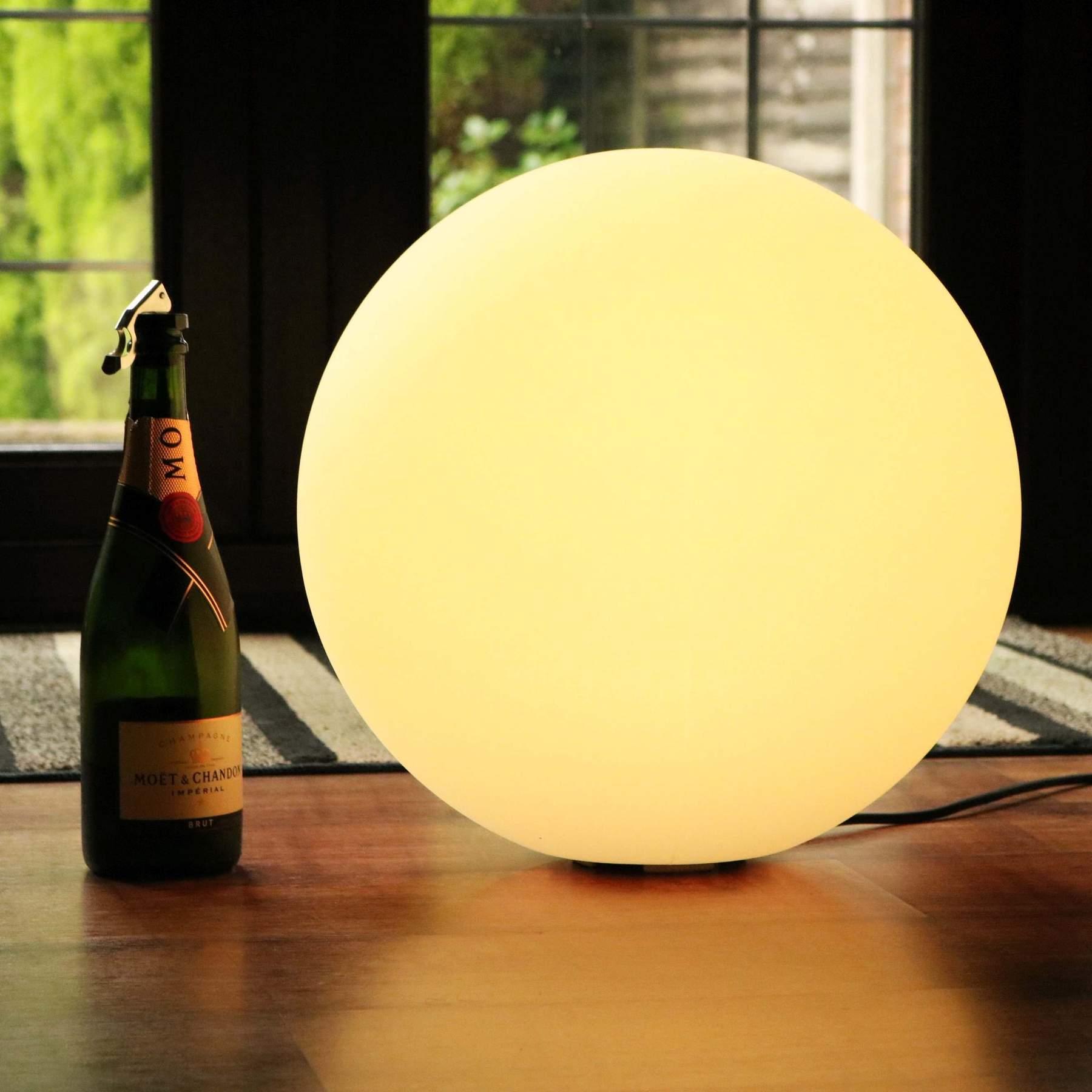 40 cm Outdoor Ball Lights, 15.7 Inch Floor Lighting Balls, Floating Pool LED Balls