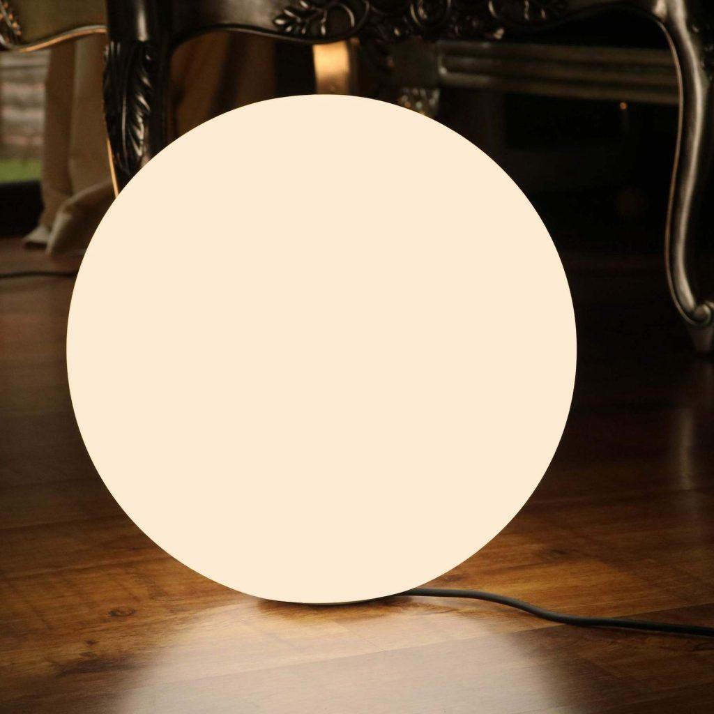 50 cm E27 Bulb Lighting Ball Lamps, 19.7 Inch Cordless Patio Garden Lamps