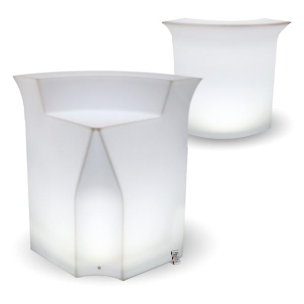 LED Corner Bar Counters