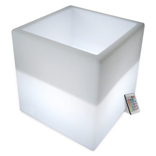 LED Cube Flower Pots