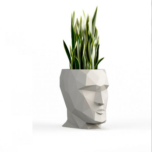 LED Modern Head Flower Pots