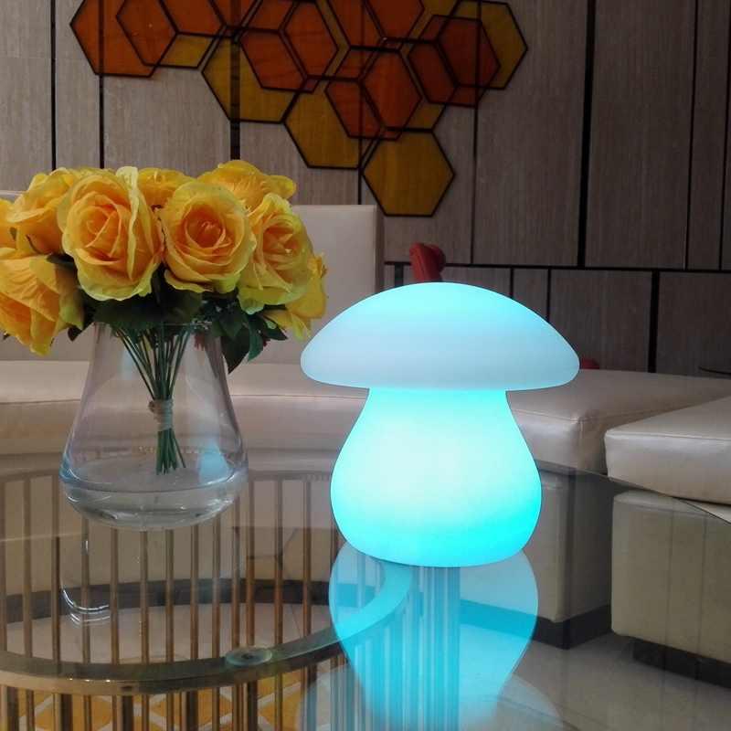 LED Mushroom Lamp Light