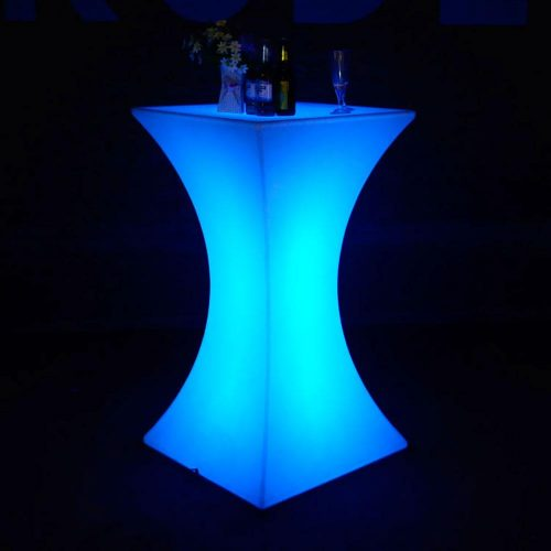 LED Square Cocktail Tables