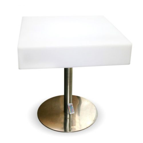 LED Square Tall Coffee Tables