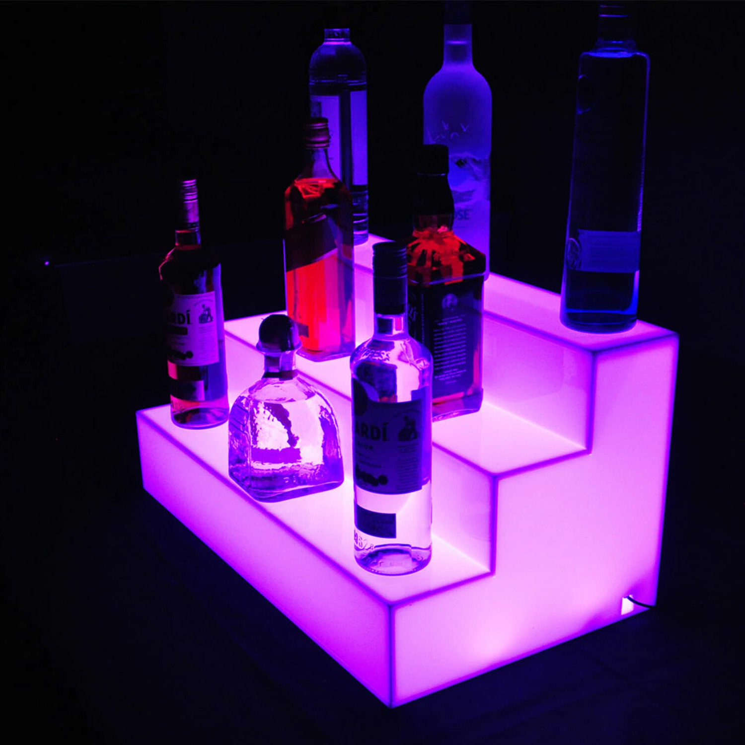 LED Wine Racks