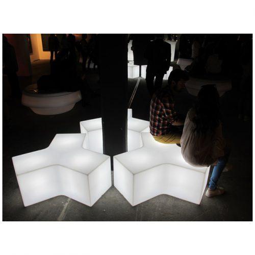 LED Y Shaped Stools