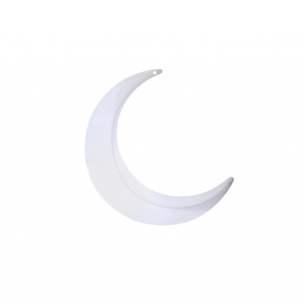 Large Lighting LED Crescent Moon Swing