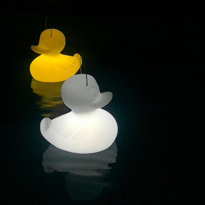 Outdoor Waterproof Wireless Control Decoration RGB Duck Duck Lamp