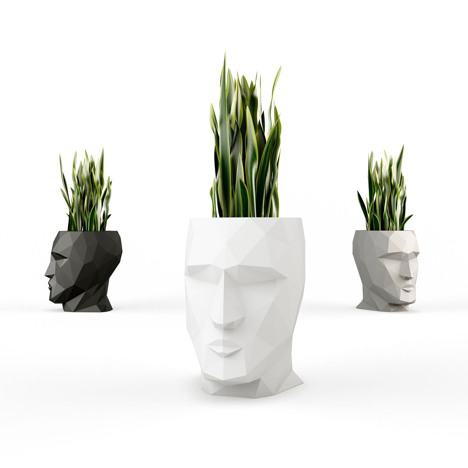 LED Modern Head Flower Pots