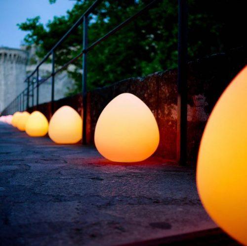 Peach Shaped LED Lights