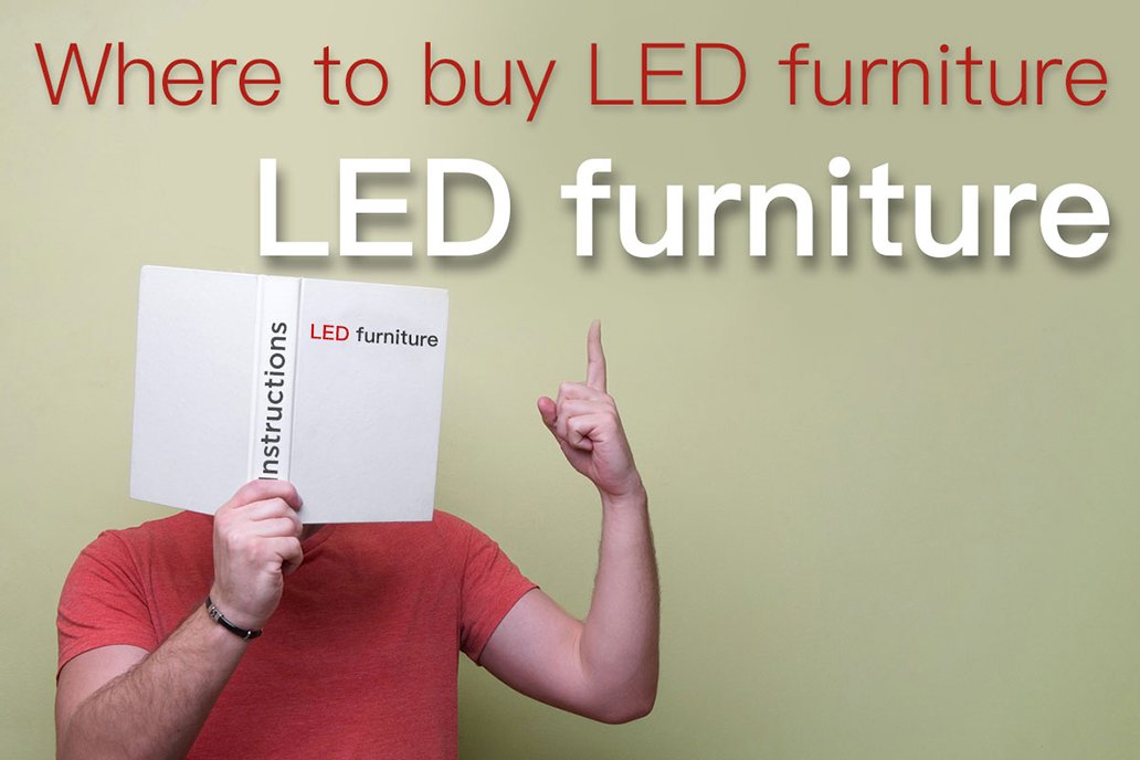 Where to buy LED furniture
